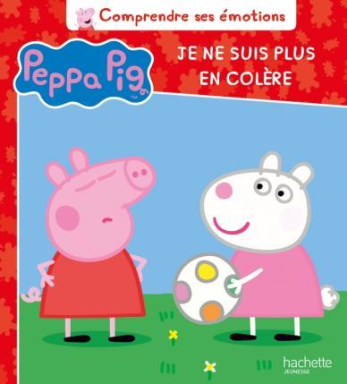 Peppa Pig - Comprendre ses émotions - Je ne suis plus en colère