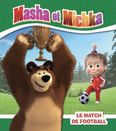 Masha et Michka - Le match de football