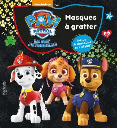 Paw Patrol-La Pat'Patrouille - Masques à gratter