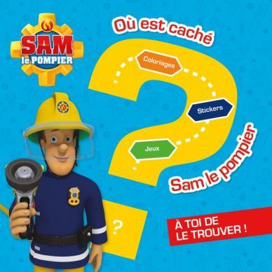 Sam le pompier - Où est caché Sam le pompier ?