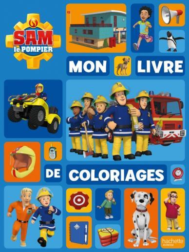 Sam le Pompier-Mon livre de coloriages NED