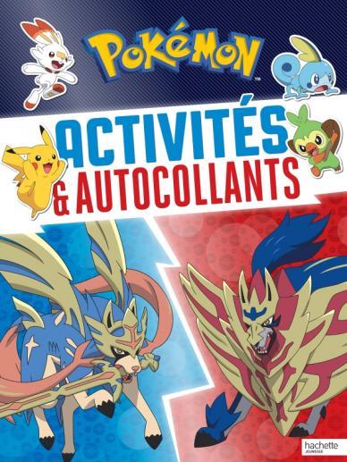Pokémon-Activités et autocollants