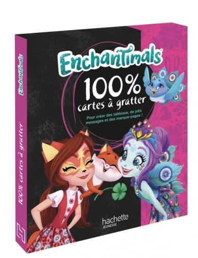 Enchantimals - Mon coffret 100% cartes à gratter
