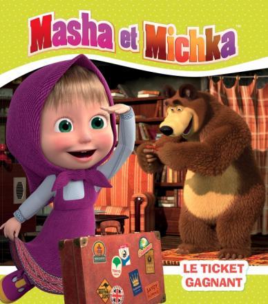 Masha et Michka-Le ticket gagnant