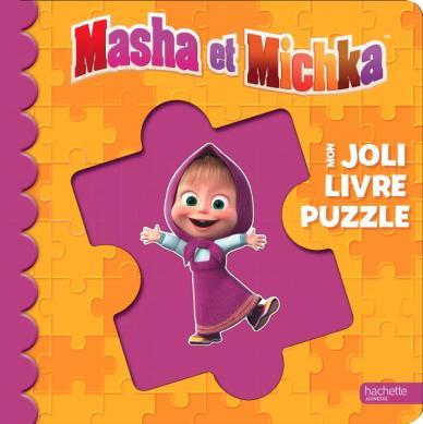 Masha et Michka - Mon Joli Livre Puzzle NED 2020
