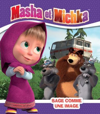 Masha et Michka -Sage comme une image