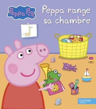 Peppa Pig-Peppa range sa chambre