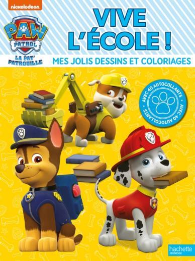 Pat' Patrouille - Vive l'école ! - Coloriages
