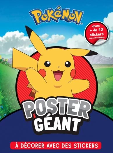Pokémon - Poster géant à décorer