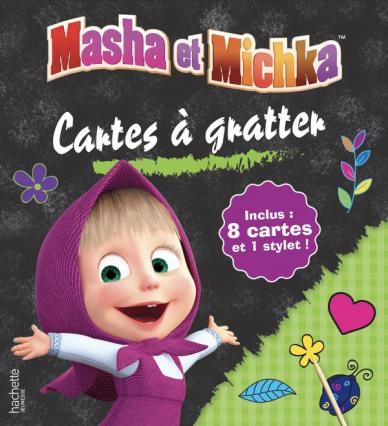 Masha et Michka - Cartes à gratter