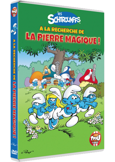 Visuel DVD Les Schtroumpfs à la recherche de la pierre magique