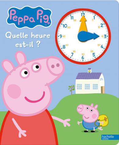 Visuel Peppa Pig - Quelle heure est-il ?