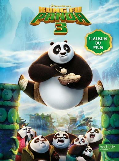 Visuel album du film - Kung Fu Panda 3