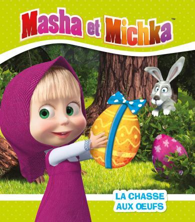 Visuel Masha et Michka - La chasse aux oeufs