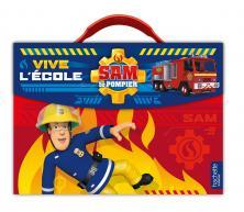 Sam Le Pompier - Valisette de rentrée - Vive l'école !