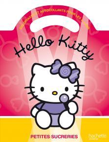 Mon coloriage à poignée Hello Kitty - Petites sucreries