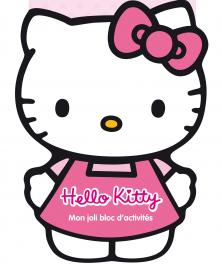 Mon joli bloc d'activités Hello Kitty