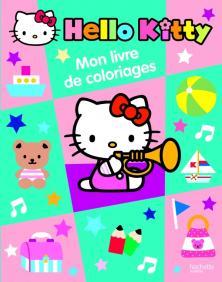 MON LIVRE DE COLORIAGES HELLO KITTY