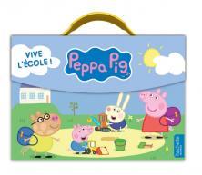 PEPPA PIG - Valisette de rentrée - Vive l'école !