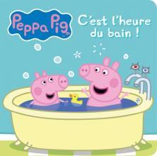 Peppa Pig - Livre bain - C'est l'heure du bain !
