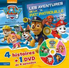 Paw Patrol-La Pat'Patrouille - Livre DVD n°2