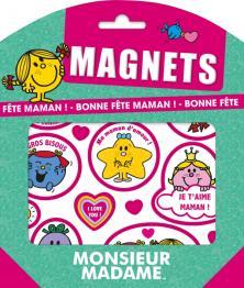 Monsieur Madame - Magnets - Bonne fête Maman