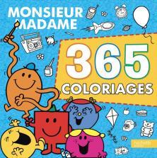 Monsieur Madame - 365 coloriages