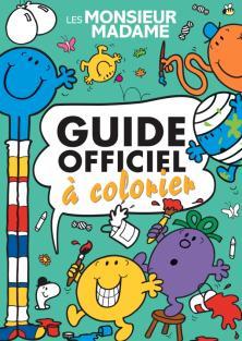 Monsieur Madame-Guide officiel à colorier
