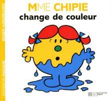 Madame Chipie change de couleur