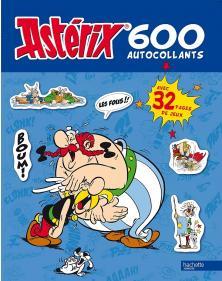 600 autocollants Astérix