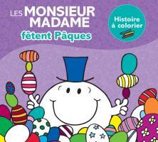 """Monsieur Madame - Histoire à colorier """"Pâques"""""""