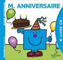 Livre CD - Monsieur Anniversaire