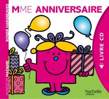 Livre CD - Madame Anniversaire