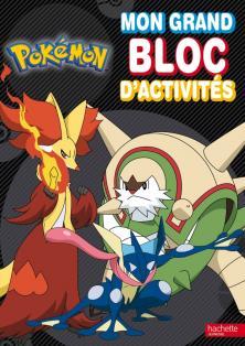 Pokémon - Mon grand bloc d'activités