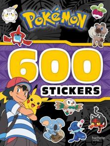 Pokemon - 600 stickers Soleil et Lune