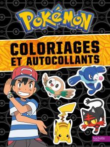 Pokemon - Coloriages et autocollants