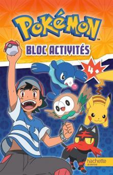 Pokemon - Bloc Activités 4+