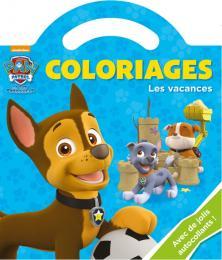 PAT'PATROUILLE /COLORIAGE POIGNEE - LES VACANCES