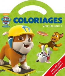 Paw Patrol - La Pat' Patrouille / Coloriages poignée - Vive les jeux