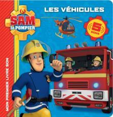 Sam le pompier - Livre-son-Les véhicules