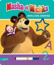 Masha et Michka - Mon livre ardoise