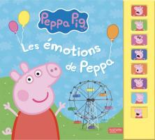 Peppa Pig -  Livre son Emotions