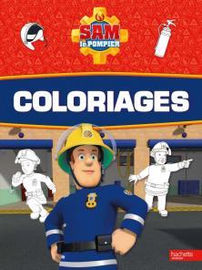 Sam le Pompier - Coloriages