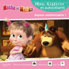 Masha et Michka - Mon histoire en autocollants