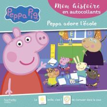 Peppa Pig- Mon histoire en autocollants