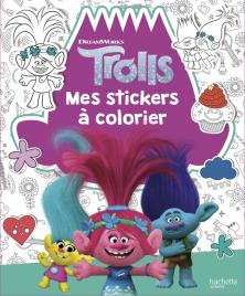 Dreamworks - Trolls- Mes Stickers à colorier