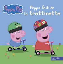 Peppa Pig-Peppa fait de la trottinette