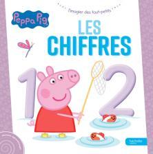 Peppa Pig - L'imagier des tout-petits - Les chiffres