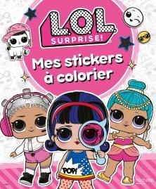 L.O.L. Surprise! - Stickers à colorier