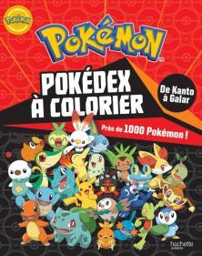 Pokémon - Pokédex de Kanto à Galar à colorier